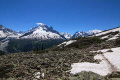 Chamonix Mont Blanc Immagine Stock Libera da Diritti