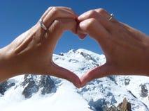 Chamonix-Mont-Blanc Fotografie Stock