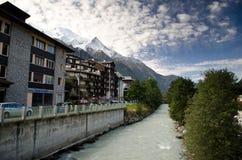 Chamonix-Mont-Blanc, Francia Fotografia Stock
