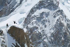 Chamonix-Mont-Blanc Frankrike Royaltyfri Foto