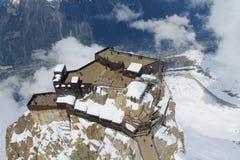 Chamonix-Mont-Blanc Frankrike Arkivbild