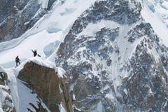 Chamonix-Mont-Blanc-Mont-Blanc, Francia Fotografia Stock Libera da Diritti