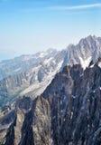 Chamonix-Mont-Blanc Mont Blanc, Francia Immagine Stock
