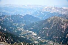 Chamonix-Mont-Blanc Mont Blanc, Francia Immagine Stock Libera da Diritti