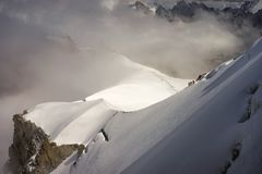 Chamonix Mont Blanc royalty free stock photography