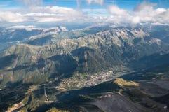 Chamonix, Mont Blanc, Mountains Royalty Free Stock Photos