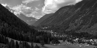 Chamonix Royalty Free Stock Photos