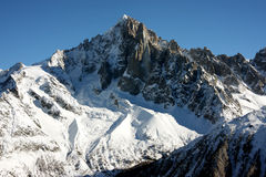 Chamonix mountains Royalty Free Stock Photo