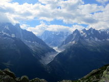Chamonix in Summer, French Alps Royalty Free Stock Photography