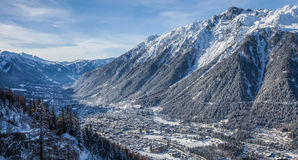 Chamonix Valley, France Stock Photography