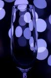Champán coloreado de cristal Imágenes de archivo libres de regalías