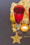 Champán 2012 de la Navidad Foto de archivo libre de regalías