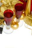 Champán 2012 de la Navidad Fotos de archivo