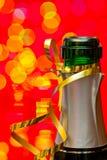 Champán de los Años Nuevos Foto de archivo libre de regalías