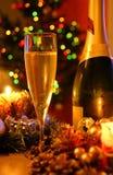 Champán del Año Nuevo Imagen de archivo libre de regalías