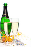 Champán del Año Nuevo Foto de archivo