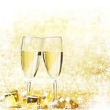 Champán del Año Nuevo Imagenes de archivo