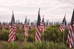 Champ annuel d'honneur, plage de Newport, la Californie, Etats-Unis image libre de droits