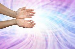 Champ d'énergie de Matrix Images libres de droits