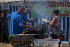 Champ d'exposition de jour de carnaval de Harthill photos libres de droits