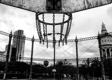 Champ de basket-ball Image stock