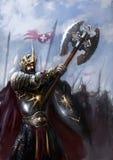 Champ de bataille illustration de vecteur