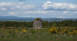 Champ de bataille de Culloden photos libres de droits