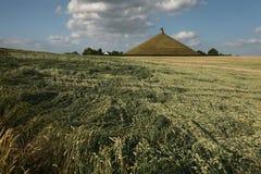 Champ de bataille de la bataille de waterloo (1815) près de Bruxelles, Belg Images libres de droits