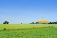 Champ de bataille de Waterloo. images libres de droits