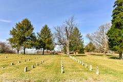 Champ de bataille - Fredericksburg, la Virginie Image libre de droits
