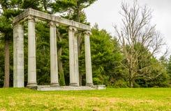 Champ de bataille de Princeton Photos stock