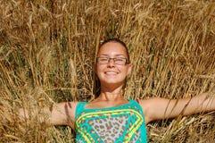 Champ de blé Image libre de droits