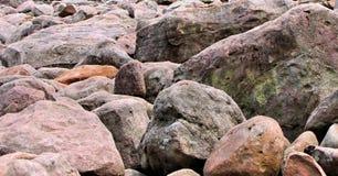 Champ de Boulder Image stock