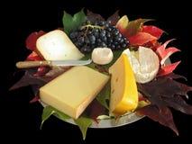 Champ de cablage à couches multiples de fromage d'automne Photographie stock libre de droits