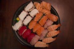 Champ de cablage à couches multiples de sushi Photos libres de droits