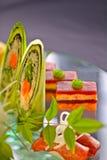 Champ de cablage à couches multiples de sushi Image libre de droits