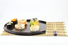 Champ de cablage à couches multiples de sushi Images stock