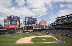 Champ de Citi, maison d'équipe de Ligue Majeure de Baseball les New York Mets Images stock
