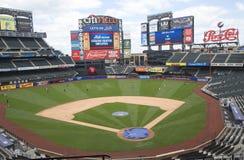 Champ de Citi, maison d'équipe de Ligue Majeure de Baseball les New York Mets Images libres de droits