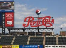 Champ de Citi, maison d'équipe de Ligue Majeure de Baseball les New York Mets Image stock