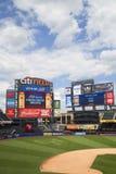 Champ de Citi, maison d'équipe de Ligue Majeure de Baseball les New York Mets Photo libre de droits