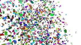 Champ de confettis illustration de vecteur