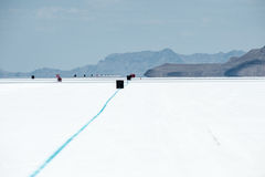 Champ de courses au speed-way de Bonneville Photo stock