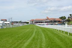 Champ de courses de Chester photo libre de droits