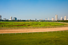 Champ de courses de Mumbai Image stock