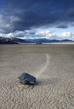 Champ de courses Playa de Death Valley Photographie stock