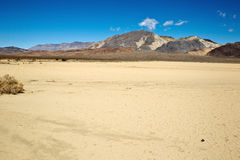 Champ de courses Playa, Death Valley Natio Photo stock