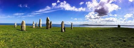 champ de dolmen images stock