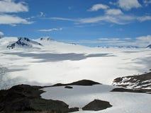 Champ de glace Kenai Alaska de Harding Photo libre de droits