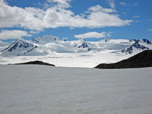 Champ de glace Kenai Alaska de Harding Photos stock